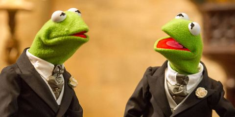 Green, Adaptation, Amphibian, Toy, Puppet, Fictional character, Humour, Animation,