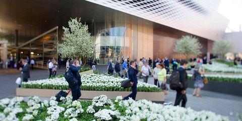 <p>Baselworld Hall, the site of both Baselworld and Art Basel.</p>