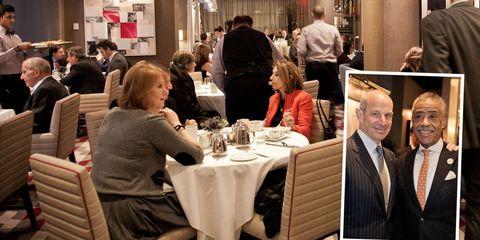 Lighting, Tablecloth, Furniture, Table, Restaurant, Chair, Customer, Linens, Tie, Conversation,