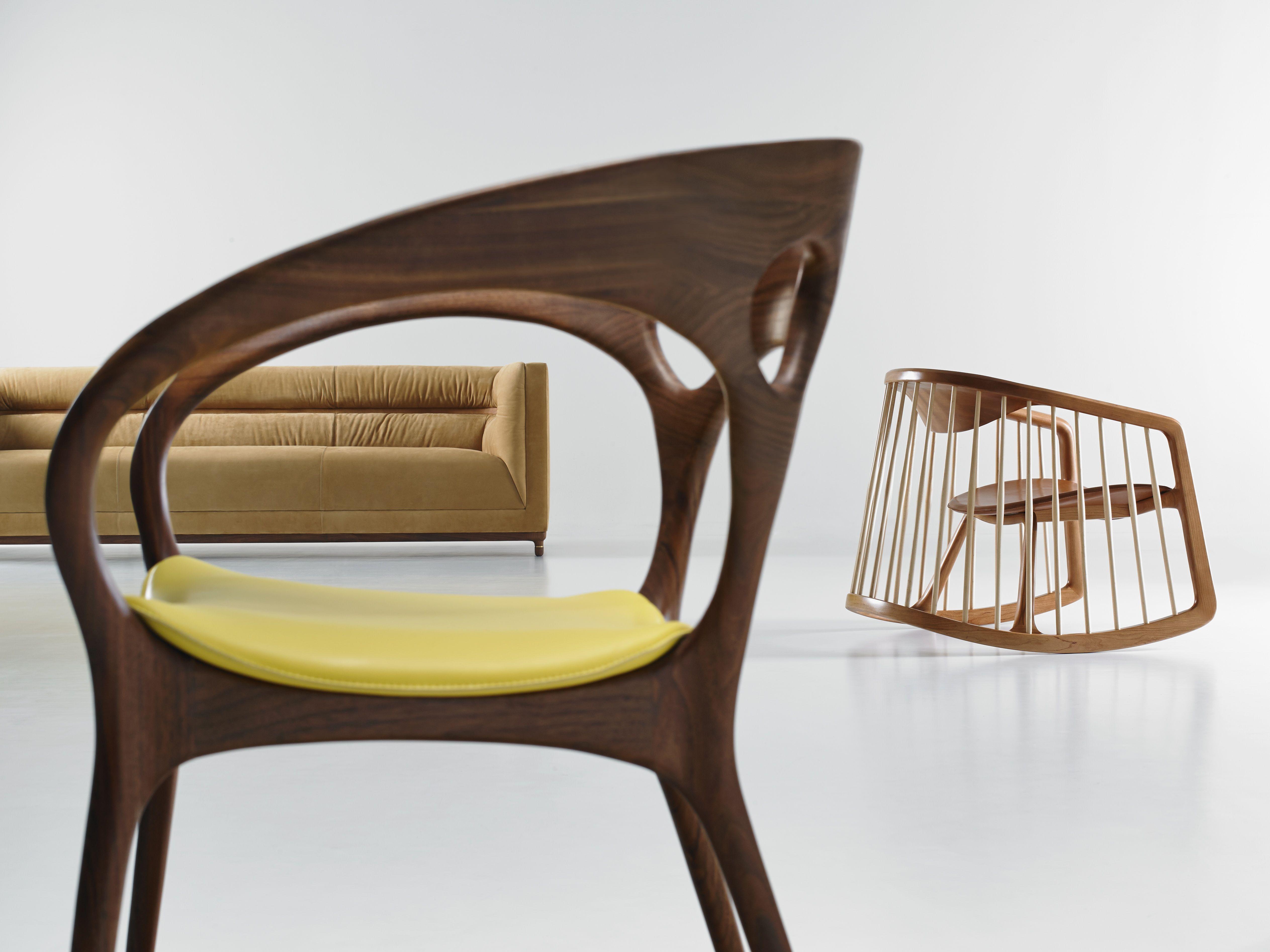 Bernhardt Chairs By Noé Duchaufour Lawrance, Jephson Robb, And Ross  Lovegrove.