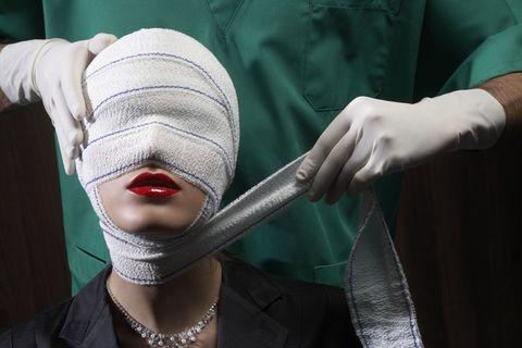 Jewellery, Fashion accessory, Fashion, Wrist, Body jewelry, Necklace, Mask, Costume, Masque, Costume accessory,