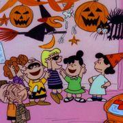 trick-or-treat, Cartoon, Animated cartoon, Orange, Jack-o'-lantern, Pumpkin, Organism, Child art, Art, Illustration,