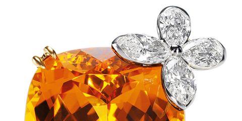 Mandarin Garnet Marquesa Ring (price on request), harrywinston.com.