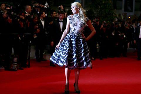 Paris Hilton at the 2014 Cannes Film Festival