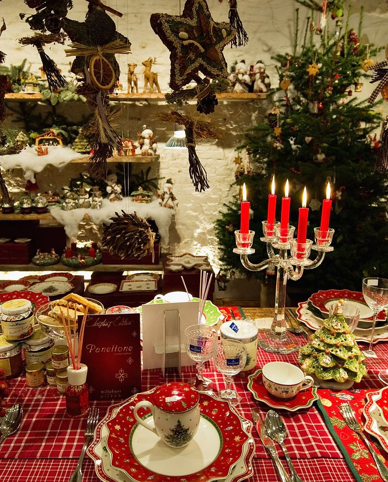 Dining Table Decoration Ideas: 25 Elegant Christmas Table Settings