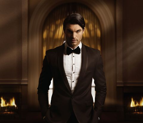 An image of a man in a tuxedo