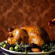Food, Dish, Roast goose, Roasting, Turkey meat, Cuisine, Hendl, Drunken chicken, Thanksgiving dinner, Rotisserie,