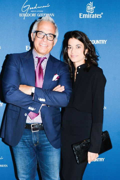 Men of Measure, Inner Circle, December 2014, Geoffrey Zakarian, Margaret Zakarian