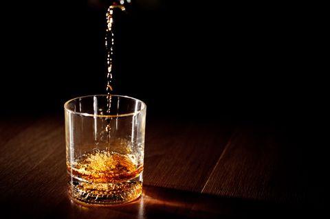 Glass of Kentucky Bourbon