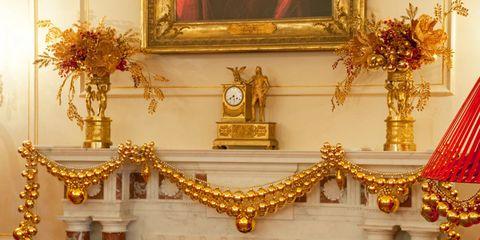 Yellow, Amber, Brass, Interior design, Picture frame, Artifact, Bronze, Vase, Antique, Clock,