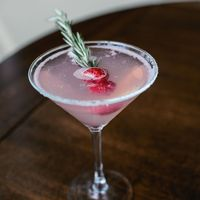 Mistletoe Martini