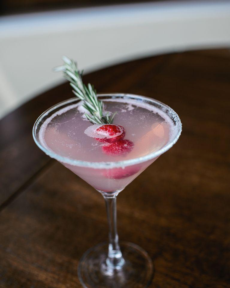 Holiday Martini Recipes For