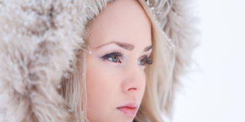 Nose, Lip, Mouth, Eye, Hairstyle, Skin, Eyebrow, Eyelash, Winter, Iris,