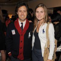 David Lauren and Lauren Bush Lauren in Polo.