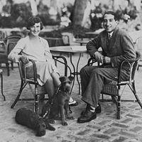 René Lacoste and Simone de la Chaume in France.