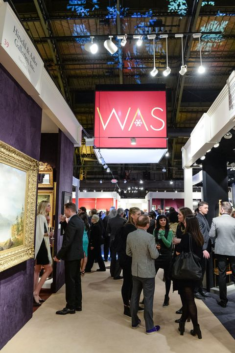 winter antiques show young collectors