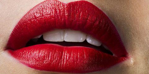 Lip, Skin, Red, Eyelash, Tooth, Jaw, Lipstick, Organ, Close-up, Beauty,