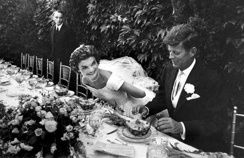 Jackie Kennedy JFK Wedding Dinner