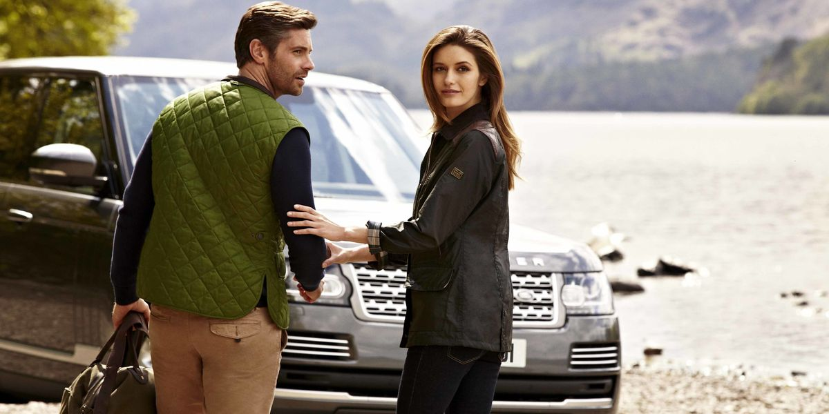 The Barbour For Land Rover Collection Spring 2015