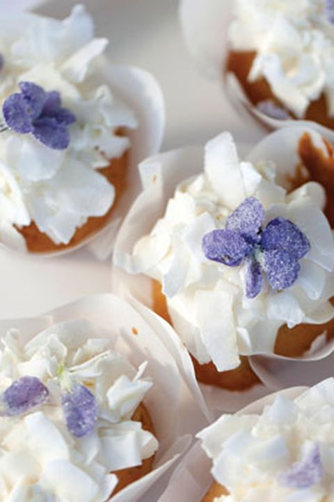 Petal, White, Sweetness, Dessert, Purple, Violet, Finger food, Artificial flower, Flowering plant, Recipe,