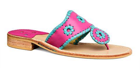 Shoe, Pink, Fashion, Costume accessory, Tan, Magenta, Beige, Sock, Cushion, Slipper,