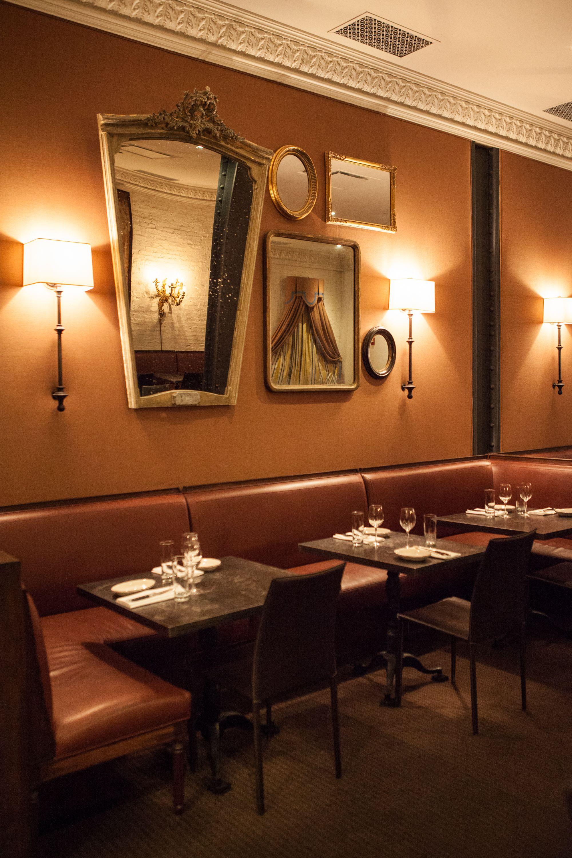 Interior of Rotisserie Georgette