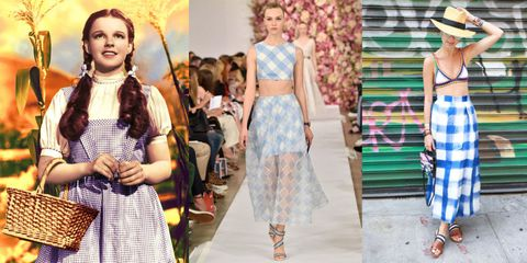 Textile, Dress, Pattern, Hat, Style, Fashion accessory, Waist, Street fashion, Fashion, Sun hat,