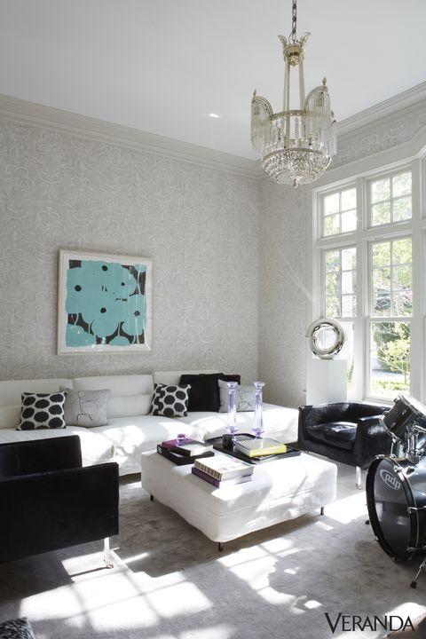 Room, Interior design, Floor, Living room, Wall, Home, White, Ceiling, Ceiling fixture, Interior design,