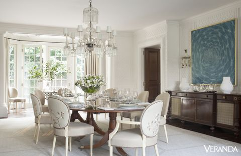 Room, Interior design, Floor, Property, Furniture, Table, White, Flooring, Glass, Chair,