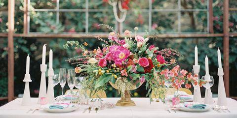 Bouquet, Petal, Dishware, Serveware, Centrepiece, Flower, Glass, Pink, Cut flowers, Floristry,