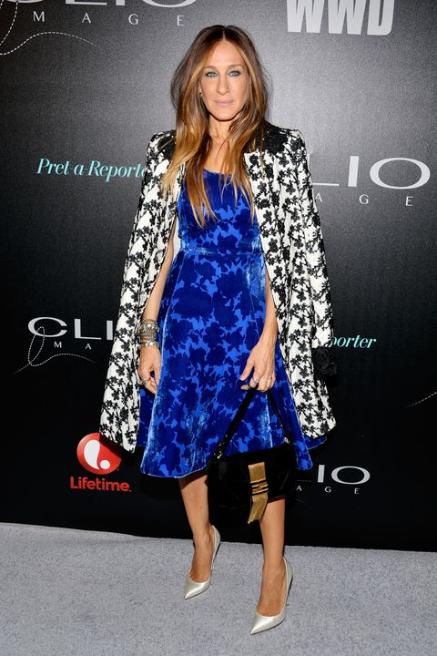NEW YORK, NY - MAY 07:  Actress and designer Sarah Jessica Parker attends the 2014 CLIO Image Awards at The Pierre Hotel on May 7, 2014 in New York City.  (Photo by Ben Gabbe/Getty Images)