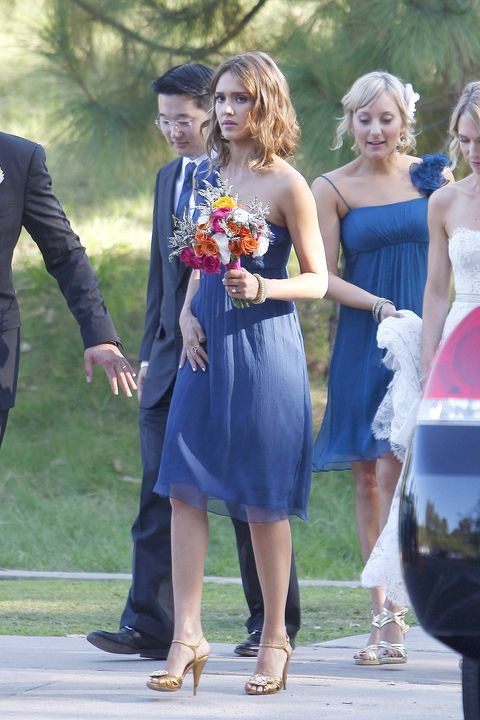 Beverly Hills, CA - Jessica Alba and husband Cash Warren attending a wedding this evening where Cash served as the best man and Jessica as a bridesmaid.  Jessica appeared to be a little distant from Cash, giving him a few scowls while walking to the reception party.GSI Media    September 17, 2010To License These Photos, Please Contact :Steve Ginsburg(310) 505-8447(323) 4239397steve@ginsburgspalyinc.comsales@ginsburgspalyinc.comorKeith Stockwell(310) 261-8649(323) 325-8055 keith@ginsburgspalyinc.comginsburgspalyinc@gmail.com