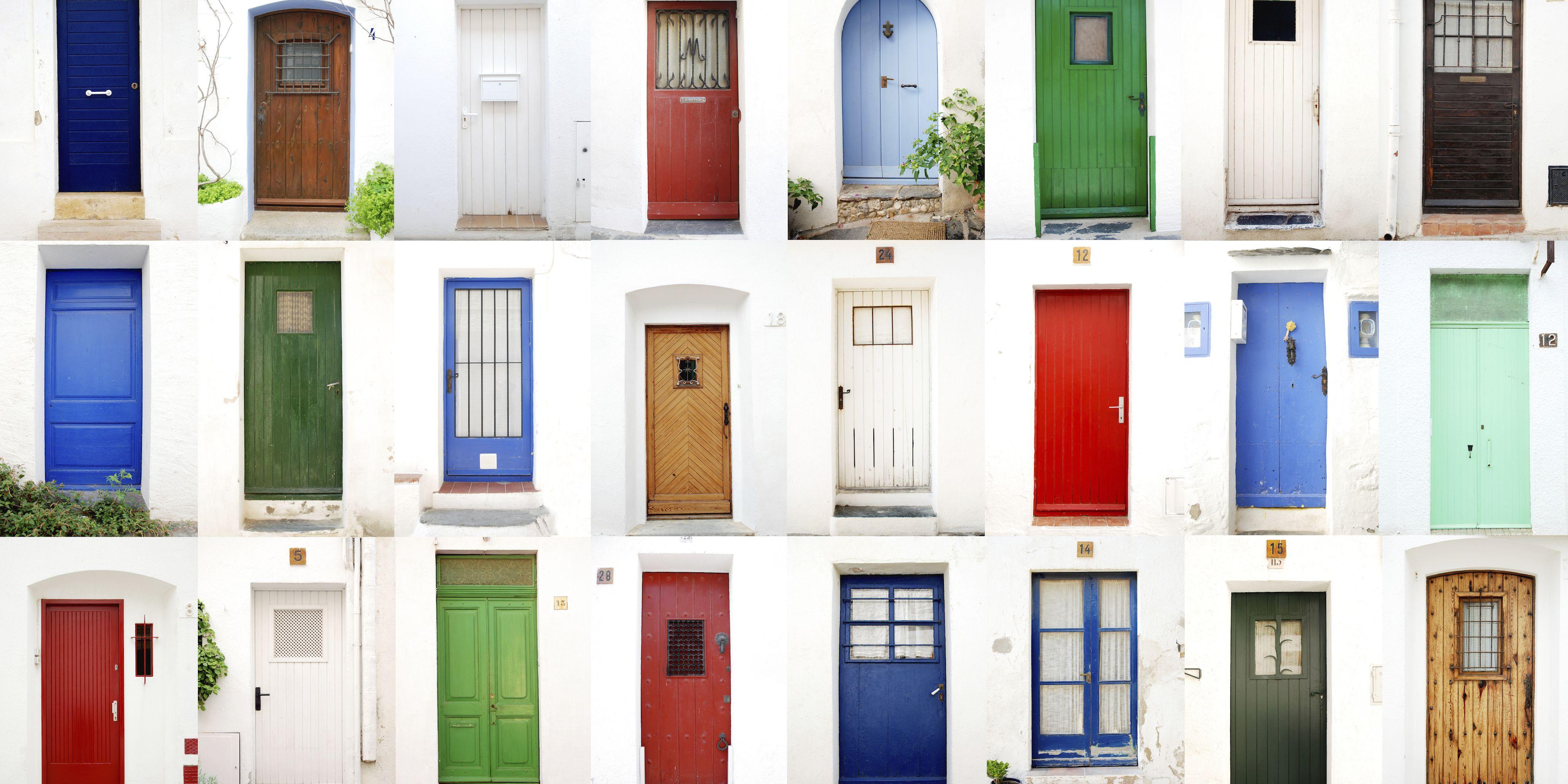 Getty Images & 15 Statement Doors