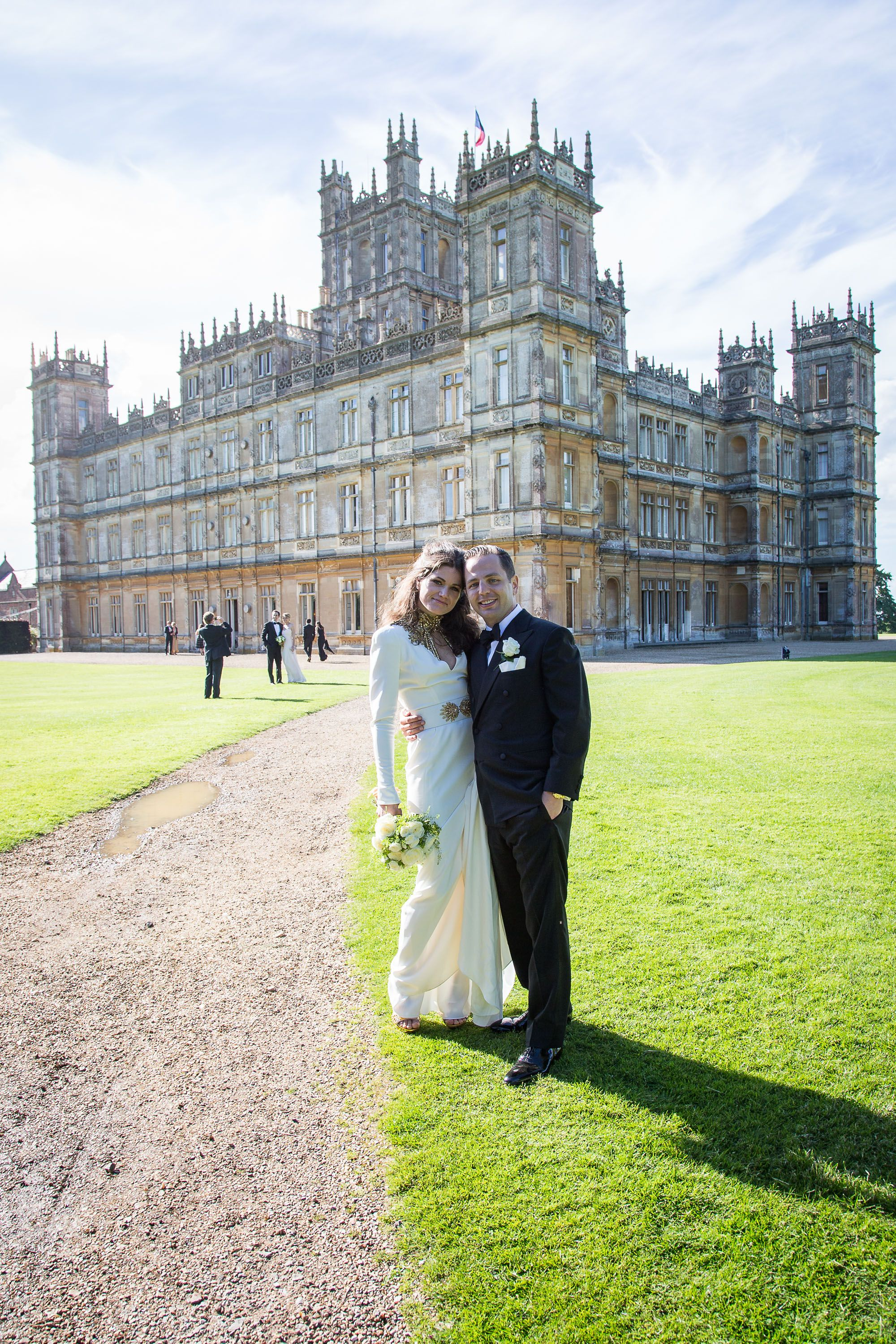 What It's Really Like to Get Married at Downton Abbey