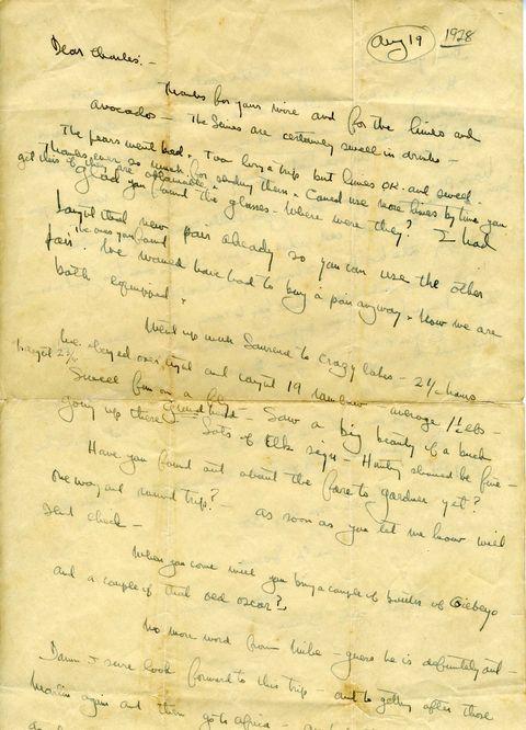 hemingway letter l.l. bean 1