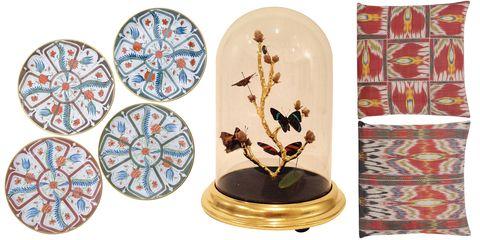 Dishware, Art, Porcelain, Ceramic, Serveware, Circle, Creative arts, Brass, Plate, Bronze,