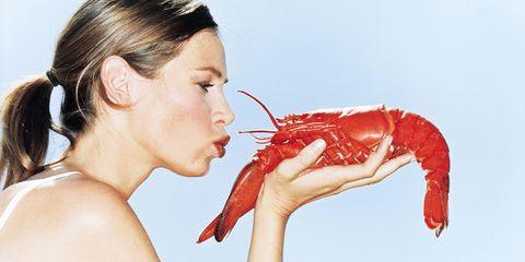 Invertebrate, Ear, Arthropod, Skin, Ingredient, Organ, Decapoda, Earrings, Seafood, Neck,