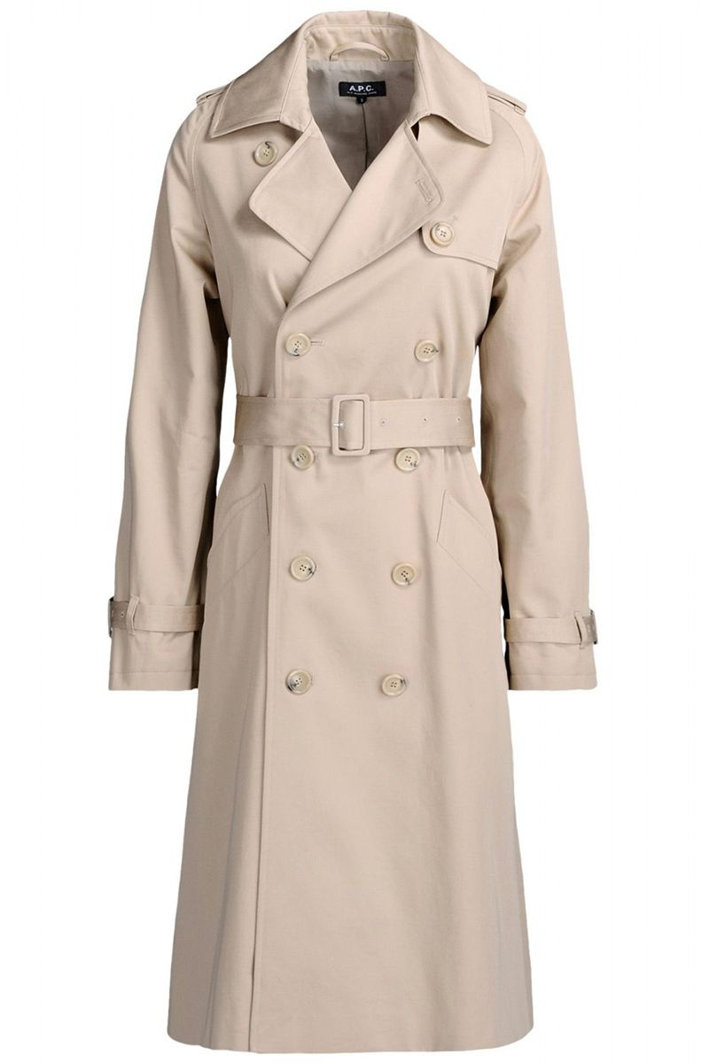 "<strong>A.P.C.</strong> coat, $638, <a target=""_blank"" href=""http://shop.harpersbazaar.com/designers/a-p-c/greta-gabardine-trench-coat/"">shopBAZAAR.com</a><img src=""http://assets.hdmtools.com/images/HBZ/Shop.svg"" class=""icon shop"">."
