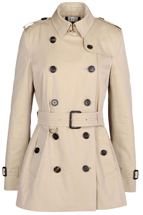 "<strong>Burberry London</strong> coat, $1,595, <a target=""_blank"" href=""http://shop.harpersbazaar.com/designers/burberry-london/classic-short-trench/"">shopBAZAAR.com</a><img src=""http://assets.hdmtools.com/images/HBZ/Shop.svg"" class=""icon shop"">."