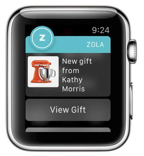 Wedding Registry Apps: Wedding Registry Right To Your Wrist