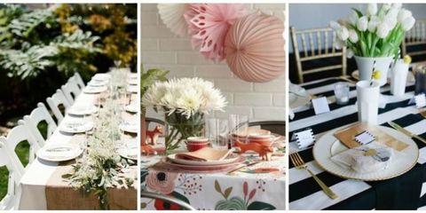 Serveware, Dishware, Tablecloth, Petal, Porcelain, Furniture, Linens, Centrepiece, Peach, Home accessories,