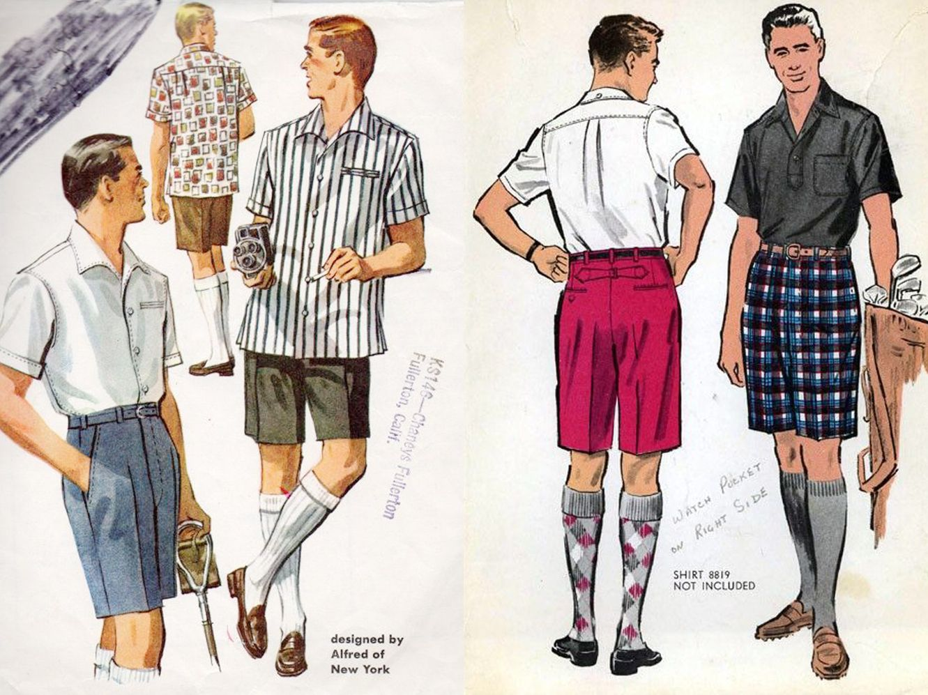 b1739f81f8 Dare To Wear: The History of Bermuda Shorts in Photos