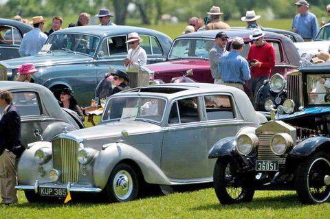 Winterthur Historic Autos at Point-to-Point