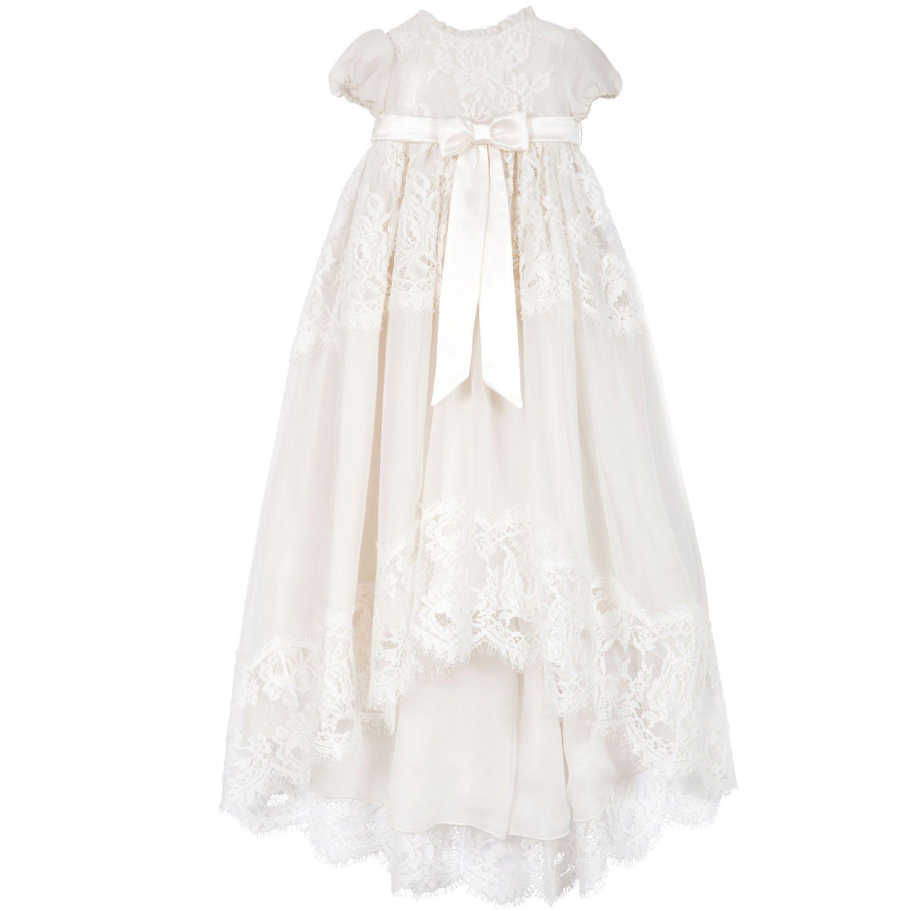 "Dolce &amp;amp; Gabbana Long Christening Dress, $1176; &lt;a target=""_blank"" href=""http://www.melijoe.com/us/dolce-gabbana-long-christening-dress-71293""&gt;melijoe.com&lt;/a&gt;   <!--EndFragment-->"