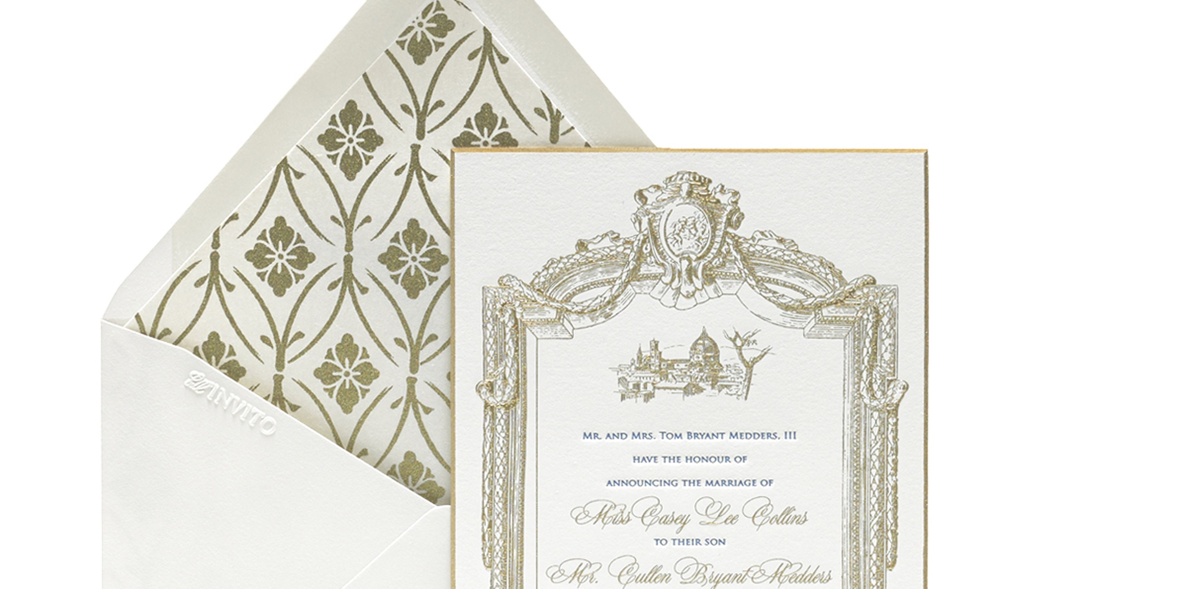 Wedding invitation etiquette how to write a wedding invitation monicamarmolfo Image collections
