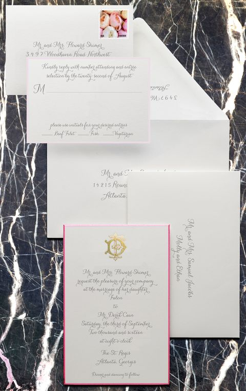 wedding invitation etiquette - how to write a wedding invitation, Wedding invitations
