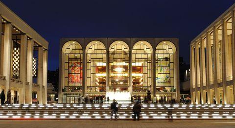 Night, Facade, Commercial building, Column, Arcade,