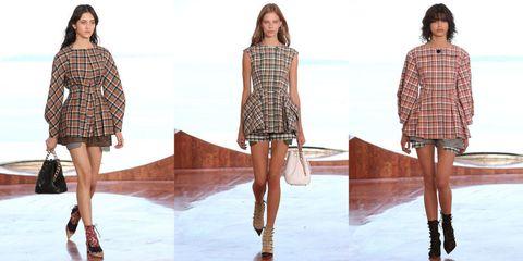 Clothing, Footwear, Leg, Arm, Sleeve, Human leg, Shoulder, Pattern, Plaid, Joint,