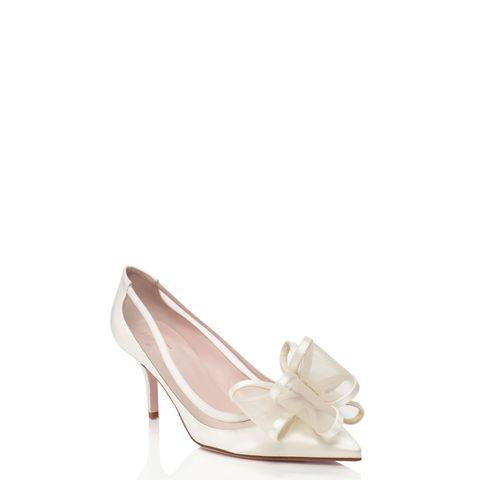 "Kate Spade Jackie Heels, $350; <a href=""http://m.katespade.com/categories/ks-bridal-shoes/products#lct-1497"">katespade.com</a>   <!--EndFragment-->"