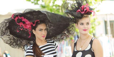 Devon Horse Show Hats